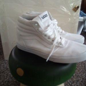 White Vans Skate high